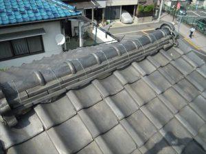 東京都葛飾区 M様邸 和瓦からコロニアル葺きへ 屋根葺き替え工事 施工前