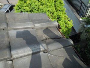 東京都葛飾区 M様邸 和瓦からコロニアル葺きへ 屋根葺き替え工事 施工前8