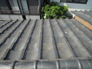 東京都葛飾区 M様邸 和瓦からコロニアル葺きへ 屋根葺き替え工事 施工前10