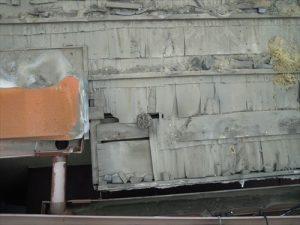 東京都葛飾区 M様邸 和瓦からコロニアル葺きへ 屋根葺き替え工事 施工中14