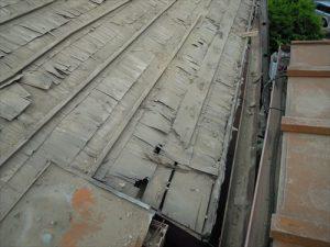 東京都葛飾区 M様邸 和瓦からコロニアル葺きへ 屋根葺き替え工事 施工中22