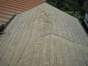 東京都葛飾区 M様邸 和瓦からコロニアル葺きへ 屋根葺き替え工事 施工中23