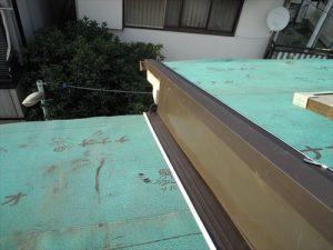 東京都葛飾区 M様邸 和瓦からコロニアル葺きへ 屋根葺き替え工事 施工中36