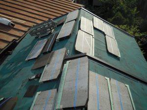 東京都葛飾区 M様邸 和瓦からコロニアル葺きへ 屋根葺き替え工事 施工中38