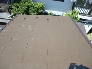 東京都葛飾区 M様邸 和瓦からコロニアル葺きへ 屋根葺き替え工事 施工中45
