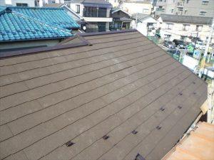 東京都葛飾区 M様邸 和瓦からコロニアル葺きへ 屋根葺き替え工事 施工中46
