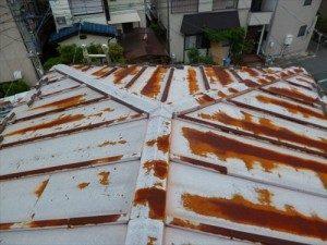 東京都江戸川区 H様邸 ガルバリウム鋼板タテ平葺き 屋根葺き替え工事 雨漏り