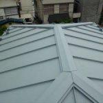 東京都江戸川区 H様邸 ガルバリウム鋼板タテ平葺き 屋根葺き替え工事 施工後