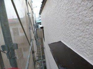千葉県市川市Y様邸 外壁塗装工事 施工中・塗装仕上げ