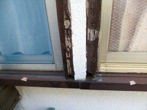 東京都江戸川区 S様邸 ガルバリウム鋼板タテ平葺き(シージングボード下地)屋根葺き替え工事 方立が腐ってました