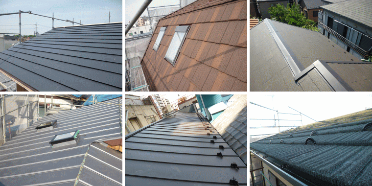 屋根葺き替え・屋根工事